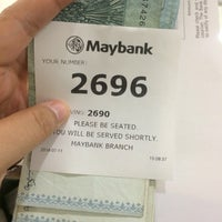 Photo taken at Maybank by Syahirah M. on 7/11/2016