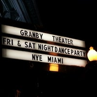 Photo taken at Granby Theater by Jeff D. on 12/30/2012
