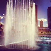 Photo taken at Fountains of Bellagio by Watson J. on 5/18/2013