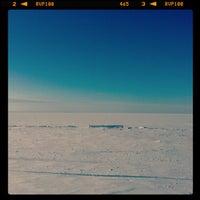 Снимок сделан в Ягринский пляж пользователем Ed 3/5/2013