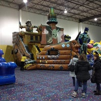 Photo taken at Jump!Zone - Niles by Tim M. on 2/8/2013