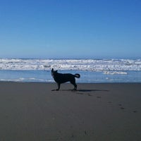 Photo taken at North Jetty by Heatheree on 10/17/2012