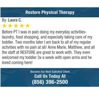 Photo taken at Restore Physical Therapy by Restore Physical Therapy on 12/17/2016