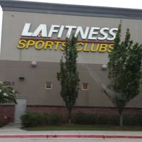 Photo taken at LA Fitness by chris s. on 8/15/2013