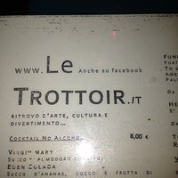 Photo taken at Le Trottoir by Gianni M. on 1/13/2013