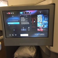Photo taken at AA Flight 78 - DFW to LHR by Chuck B. on 6/23/2016