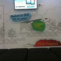 Photo taken at DiGi Center by Qyeroll I. on 6/14/2013
