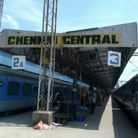 Photo taken at Chennai Central Sub Urban Station by Aabavanan M. on 9/14/2012