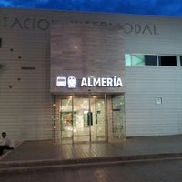 Photo taken at Estación Intermodal de Almería by Fernando P. on 5/8/2013