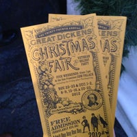 Photo taken at The Great Dickens Christmas Fair by Mat R. on 12/22/2012