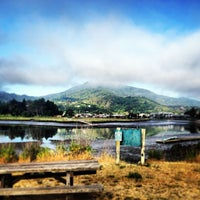 Photo taken at Corte Madera Creek by sarah p. on 5/11/2013