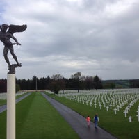 Photo taken at Henri-Chapelle American Cemetery and Memorial by Heleen S. on 4/26/2015