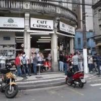 Photo taken at Café Carioca by Vanialu on 1/13/2012