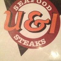 Photo taken at U & I Restaurant by Shayna B. on 3/4/2013
