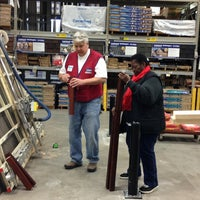 Photo taken at Lowe's Home Improvement by Cathy on 12/22/2012