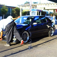 Photo taken at Premier Car Wash by Berni on 9/14/2014