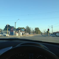 Photo taken at Armadale/nicholson Intersection by Brett C. on 1/22/2013