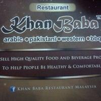 Photo taken at Khan Baba Restaurant by Huzaifah A. on 2/11/2013