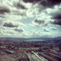 Photo taken at Clouds by Andreas H. on 4/10/2013