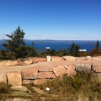 Photo taken at Dorr Mountain by Poetra Q. on 10/13/2012