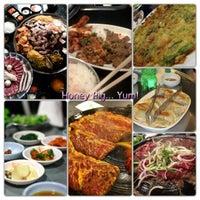 Photo taken at Honey Pig Gooldaegee Korean Grill by RobertSuzanne K. on 9/30/2012