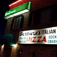 Photo taken at Barbiere's Italian Inn by Tony M. on 3/17/2014