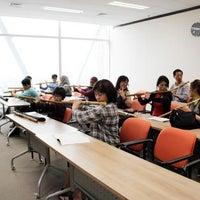 Photo taken at Korean Cultural Center (한국문화원) by Novi A. on 10/27/2012