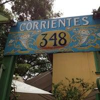 Photo taken at Corrientes 348 Parrilla Porteña by Angela A. on 4/7/2013