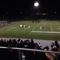 Photo taken at The Rock Bowl @ Loras College by Pat M. on 11/7/2013