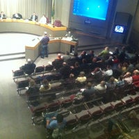 Photo taken at City Council Chambers by Ryan G. on 12/11/2012
