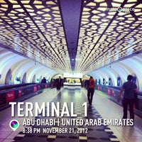 Photo taken at Terminal 1 by 🔞wildan® D. on 11/21/2012