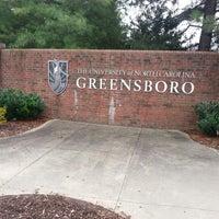 Photo taken at University of North Carolina at Greensboro by Kathryn B. on 10/9/2012