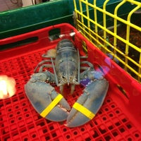 Photo taken at Thurston's Lobster Pound by Jeff M. on 7/14/2013
