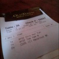 Photo taken at OldTown White Coffee by Yaya N. on 2/27/2013