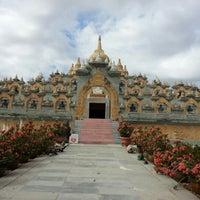 Photo taken at วัดป่ากุง (วัดประชาคมวนาราม) by rachapa b. on 12/23/2012