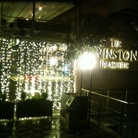 Photo taken at The Winston Brasserie by Musa K. on 12/28/2012