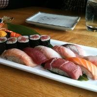 Photo taken at Sushi Taro by Eunji Y. on 5/15/2013