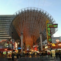 Photo taken at Fremont Street Experience by Cesar B. on 11/26/2012