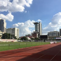 Photo taken at Thephasadin Stadium by chang t. on 11/12/2016