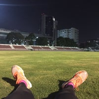 Photo taken at Thephasadin Stadium by chang t. on 10/26/2015