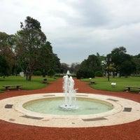 Photo taken at El Rosedal by Ernesto T. on 10/20/2012