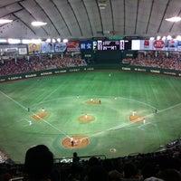 Photo taken at Tokyo Dome by Akane W. on 5/3/2013