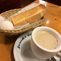 Photo taken at コメダ珈琲店 八田店 by daidai k. on 3/9/2014
