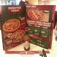 Photo taken at Papa John's by Engr. K G. on 2/27/2013