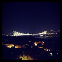 Photo taken at Conrad Roof Bar by Caner T. on 8/9/2013