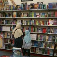 Photo taken at Togamas Bookstore by Ahimsa U. on 10/28/2012