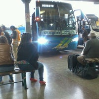Photo taken at Terminal de Buses Curicó by xico A. on 9/14/2012