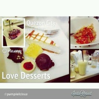 Photo taken at Love Desserts by Abby C. on 10/5/2013