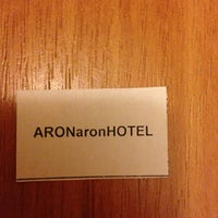 Photo taken at Hotel Aron by Mikhail B. on 1/7/2013