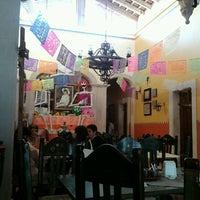 Photo taken at Rincón Maya by Perla Lizeth on 10/28/2012